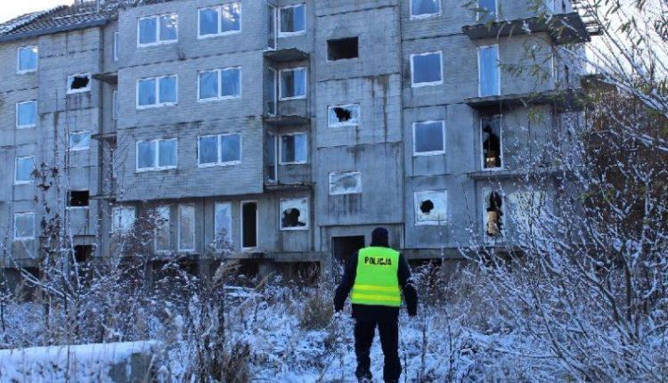 Kcyńscy policjanci kontrolowali miejsca przebywania bezdomnych