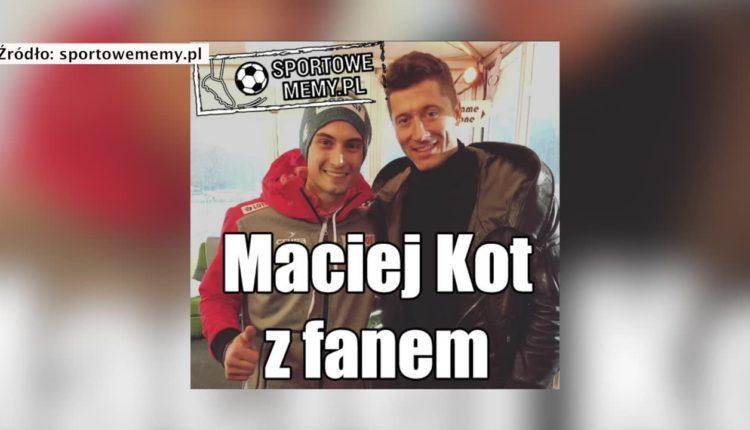 Lewandowski skradł show podczas lotów w Oberstdorfie. Internauci skomentowali obecność piłkarza na konkursie Pucharu Świata