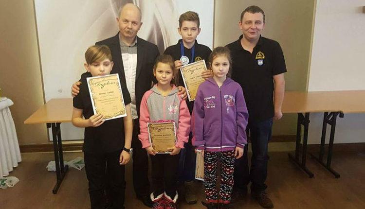 Sukcesy młodych szachistów ze Żnina