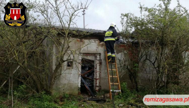 Pożar w Marcinkowie Dolnym