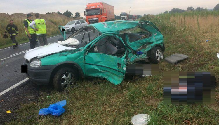 Poważny wypadek na drodze krajowej nr 5