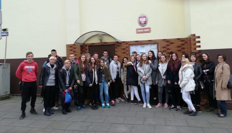 Uczniowie z szubińskiego ogólniaka w Zakładzie Karnym w Fordonie
