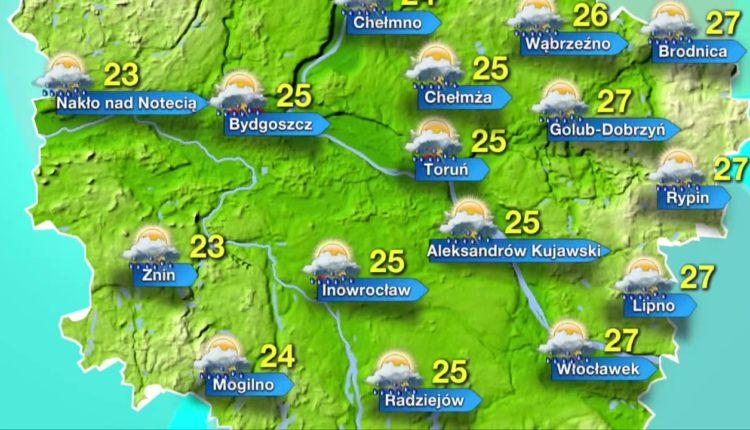 Najpierw upał, później burze – prognoza pogody na czwartek (03.05)
