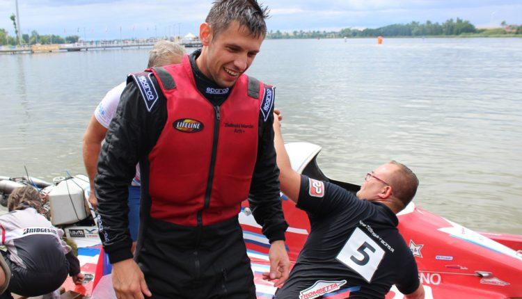 W Żninie odbyły się zawody motorowodne. Polak Marcin Zieliński został Mistrzem Europy w klasie O – 700
