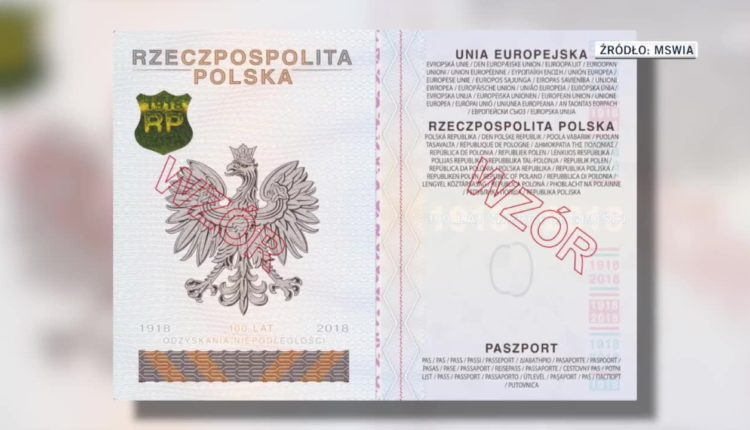 Nowy wzór paszportu na stulecie niepodległości. Zmieniono motywy graficzne i zabezpieczenia