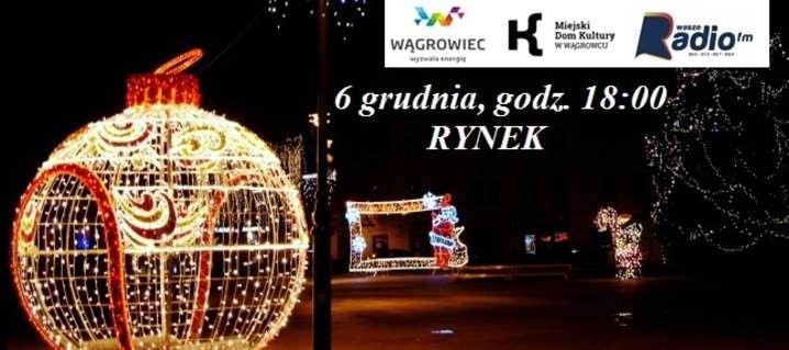Na wągrowieckim Rynku zabłyśnie świąteczna iluminacja