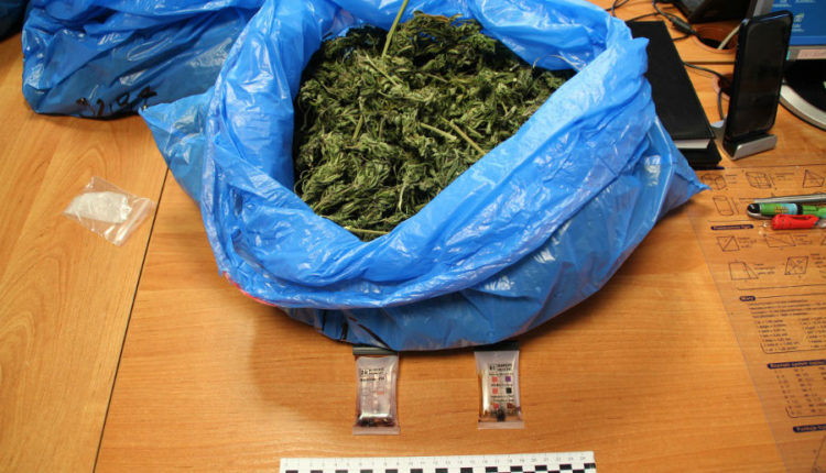 Policjanci zatrzyamli mieszkańca gminy Kcynia, który miał 2,5 kg marihuany