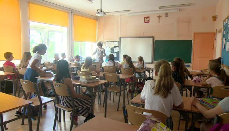 W szkole podstawowej w Wągrowcu skrócono lekcje przez upały