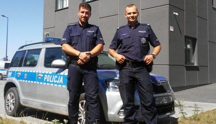 Policjanci z Szubina pilotowali auto, w którym znajdowała się rodząca kobieta