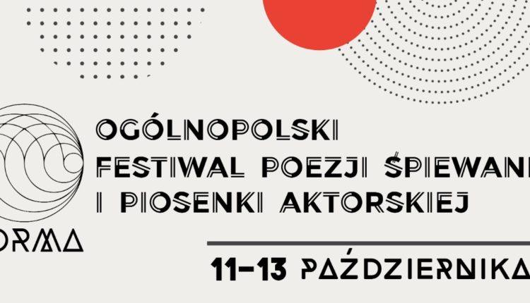 X Ogólnopolski Festiwal Poezji Śpiewanej i Piosenki Aktorskiej FORMA