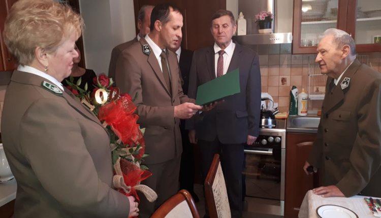 Były nadleśniczy Nadleśnictwa Gołąbki Henryk Mulczyński skończył 100 lat