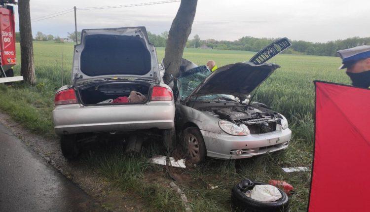Dwie osoby zginęły w wypadku w miejscowości Tonowo