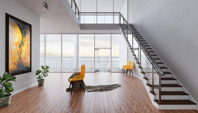 Budowa domu – jakie schody do wewnątrz?