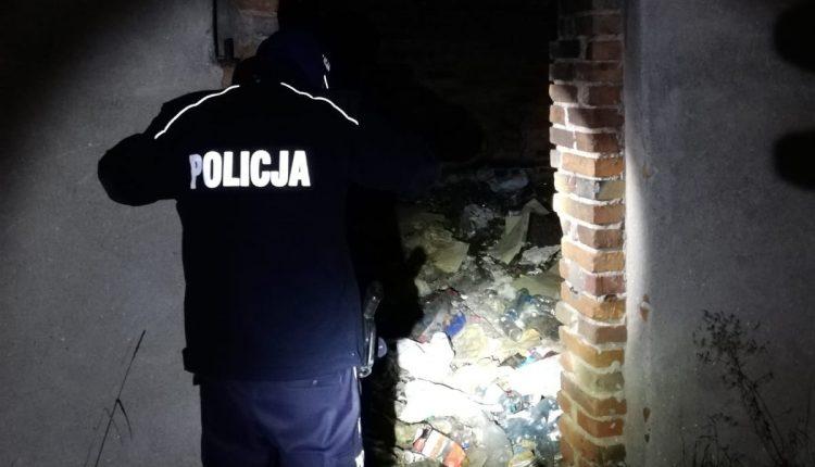 Kcyńscy policjanci kontrolują pustostany
