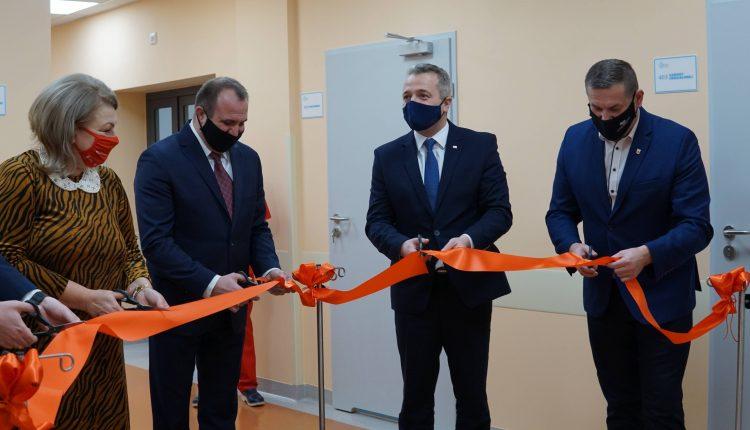 Otwarto wyremontowany oddział chorób wewnętrznych w szpitalu w Mogilnie